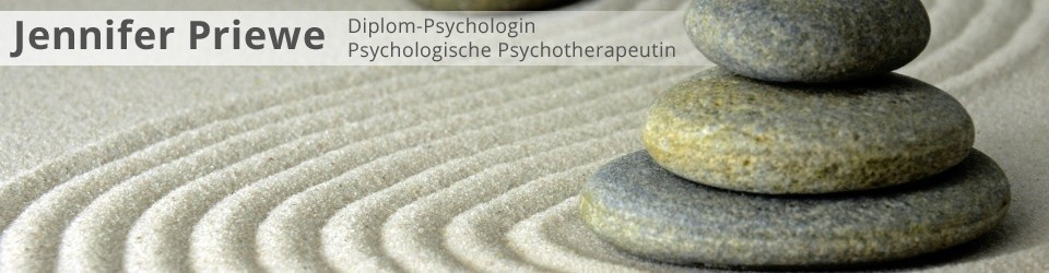 Dipl.-Psych. Jennifer Priewe, Psycho­lo­gi­sche Psycho­the­ra­peutin