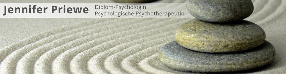 Dipl.-Psych. Jennifer Priewe, Psychologische Psychotherapeutin